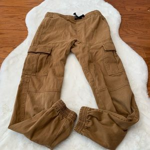 Brooklyn Cloth Boys Solid Tan the Jogger pants